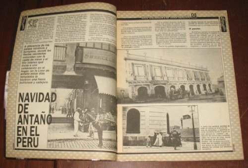 navidad suplemento gente 1991 historia villancico perú