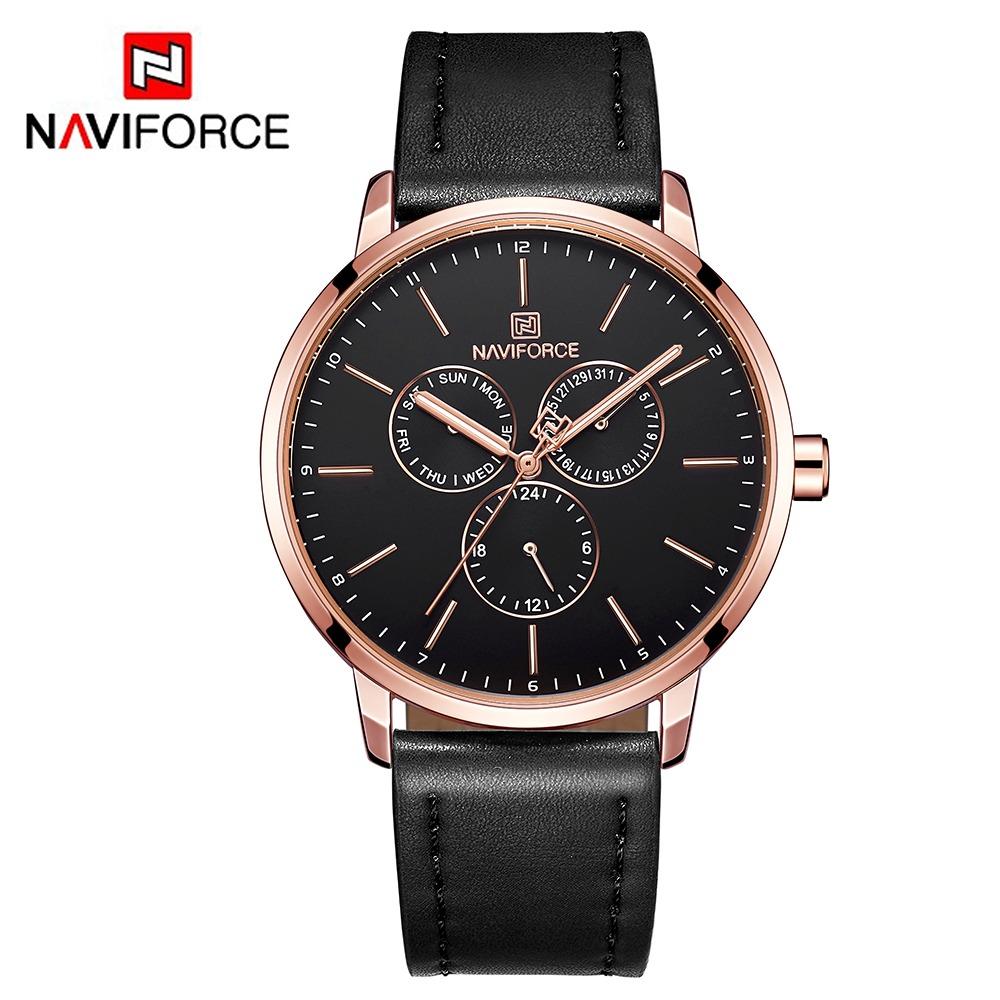 305979f4556f Naviforce Nf3001 Reloj Para Hombres Marca Sport Quartz -   17.242 en ...