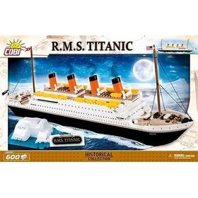 Navio Titanic - Blocos De Montar - Cobi - 600 Peças