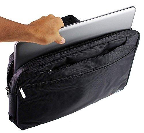 Navitech Negro Tablet Case Bag Para El Huion Kamvas Gt-191