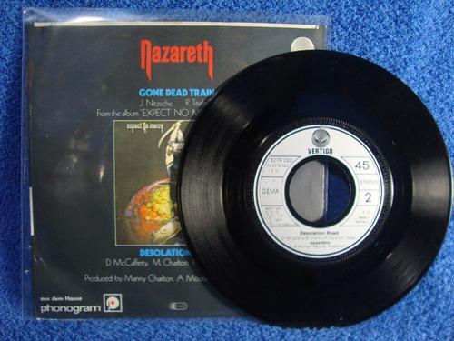 nazareth - gone dead train - lp compacto, importado