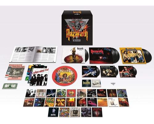 nazareth loud & proud! the boxset (lps cds singles book)