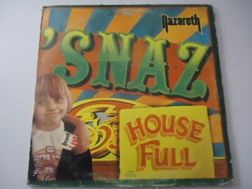 Nazareth Snaz Vinyl Lp Acetato 150 00 En Mercado Libre