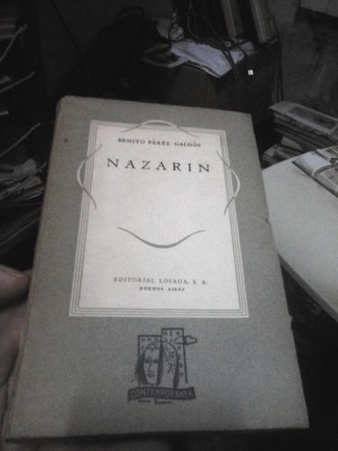 nazarin - benito pérez galdós