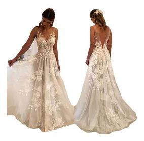 684accff9e86 Vestido Off White Com Renda E Tule - Vestidos com o Melhores Preços no Mercado  Livre Brasil