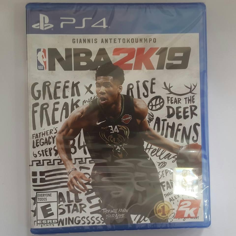 Nba 2019 Nba 2k19 Ps4 Fisico Nuevos Sellado Juego Play 4 2 999