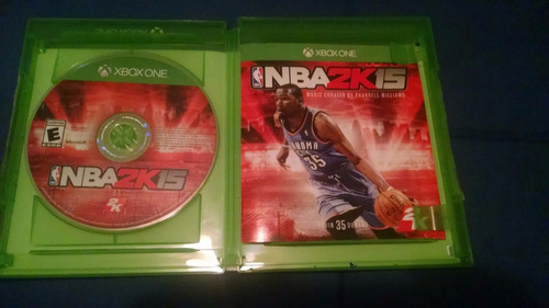 nba 2k15 xbox one impecable.