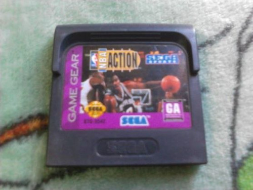 nba action sega game gear cartucho