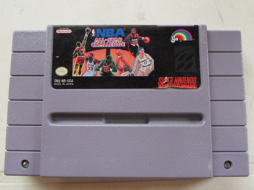 nba all star challenge original para super nintendo