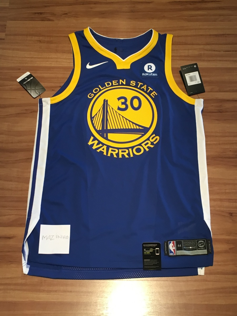 big sale 99e07 0c775 Nba-camisa Nike - Gsw Authentic Jersey - #30 Stephen Curry