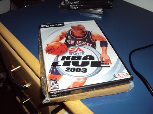 nba live 2003  - jogo para pc