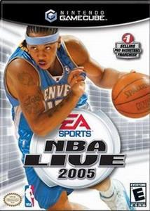 nba live 2005  / basketball / gamecube & wii