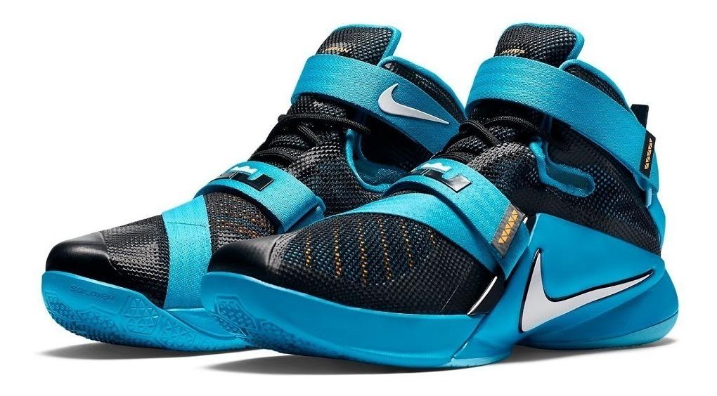 best website 6be8e 7ad0e Nba Nike Tenis Lebron Soldier 9 Lebron James Original Lb89