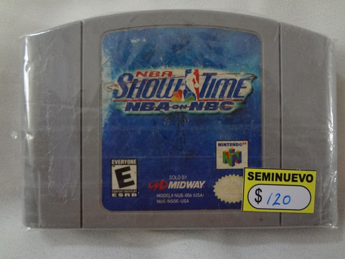 nba show time _ nba on nbc _ n64 _ shoryuken games