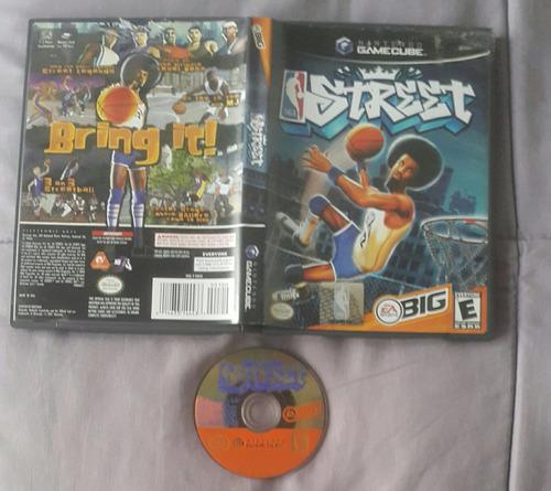 nba street - basquetbol callejero / gamecube wii