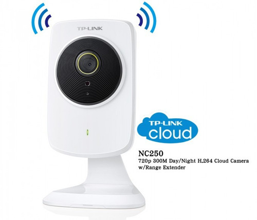 nc250 camara vigilancia cloud dia / noche hd 300mbps tp-link