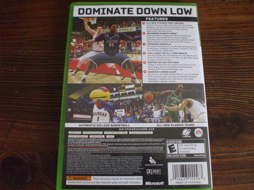 ncaa 08 march madness xbox 360