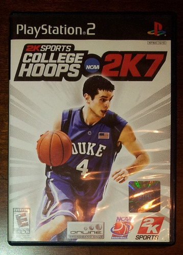ncaa 2k7 college hoops / ps2 // wario store