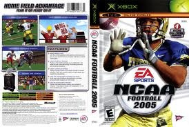 ncaa football 2005 - futbol americano / xbox original