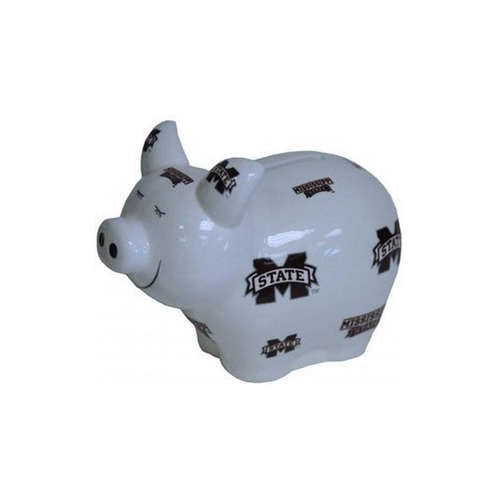 ncaa mississippi state bulldogs bank pig lg