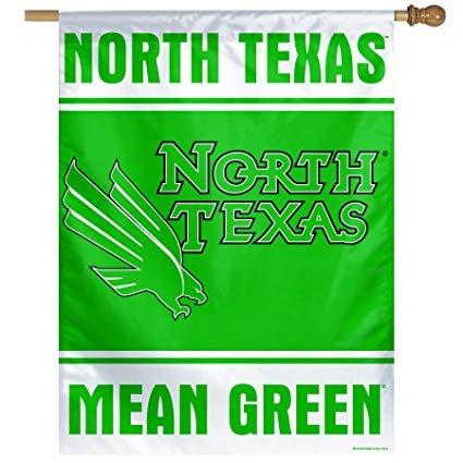 Ncaa Norte De Texas Significa Verde 6858 Cm Por 9398 Cm Or