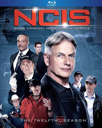 ncis temporada 12 doce serie de tv importada blu-ray