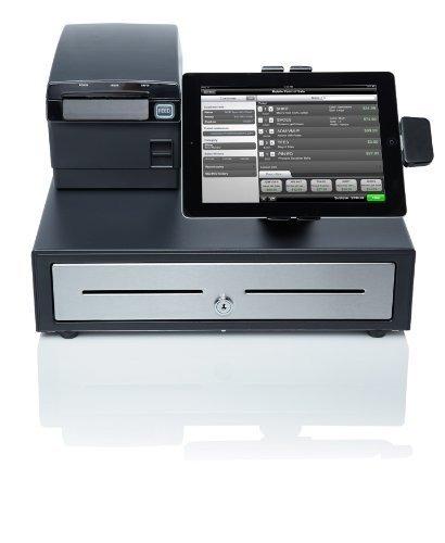 ncr silver sistema de caja registradora para ipad o iphone