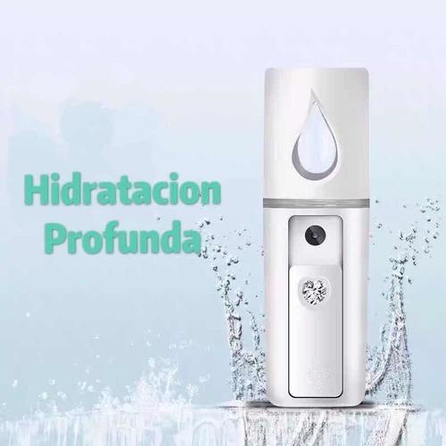 neblina - nano humectador facial - vaporizador rostro mantra vapor facial hidratacion en tu piel refrescante - garantia