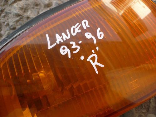 neblinero lancer 1995 copiloto detalles - lea descripción
