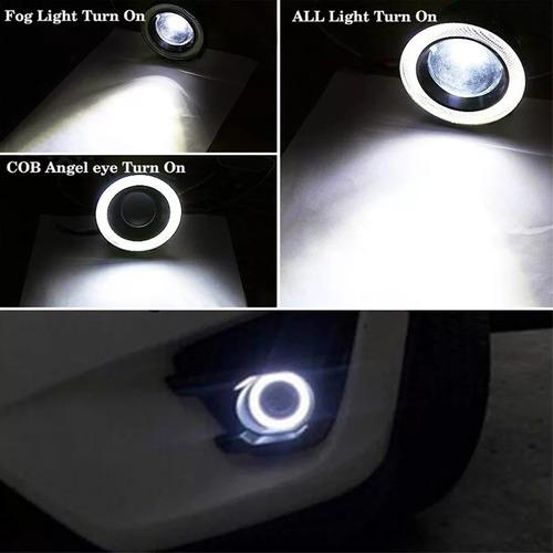 neblinero ojo de angel led universal para auto o camioneta