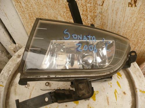neblinero sonata 2007 chofer - detalles - lea descripción