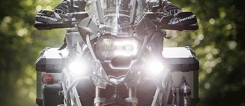 neblineros 4 led 12w tipo xenon 12v moto auto / outletnet