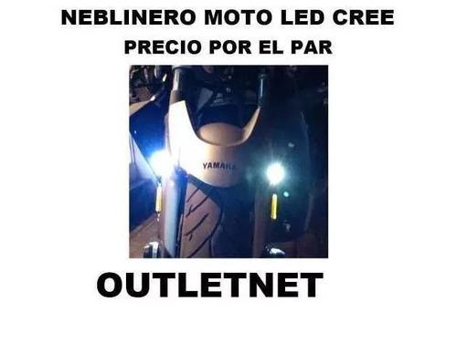 neblineros de moto led tipo xenon ultra blanco outletnet