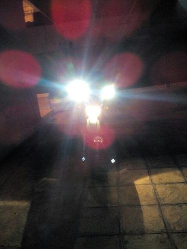 neblineros para motocicleta con anclaje a espejo retrovisor