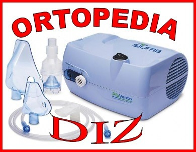 nebulizador a pistón  silfab n 30 c/aspirador nasal niños.