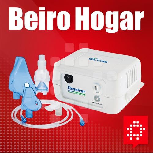 nebulizador a piston silfab respirar c/aspirador gtia 2 años
