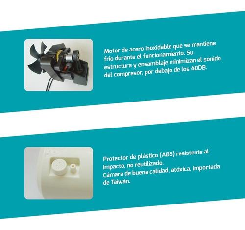 nebulizador a piston ultra portable - nuevos con gtia 2 años