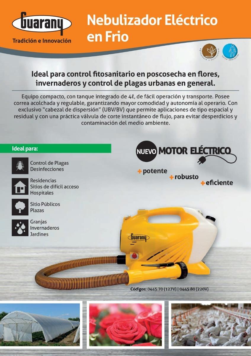 0fd3281fe Nebulizador Atomizador Eléctrico En Frío Guarany Naf - $ 35.999,00 ...