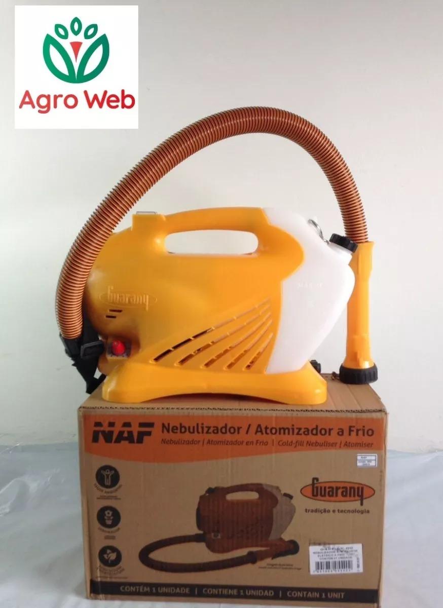 37903cd59 nebulizador / atomizador elétrico a frio naf guarany. Carregando zoom.