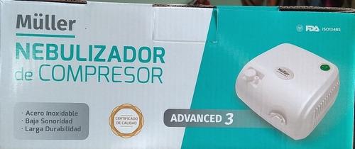 nebulizador de compresor müller. certificado de calidad iso