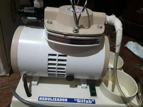 nebulizador silfab con 2 envases de 1lt
