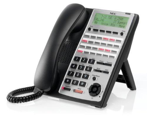 nec sl1100 sl1100 teléfono full-duplex de 24 botones (negro)