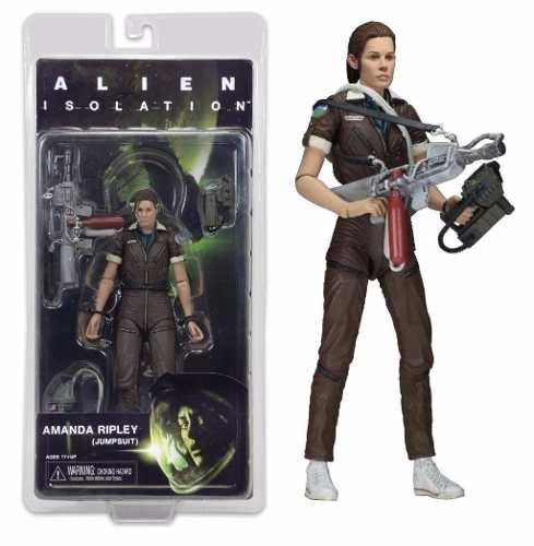 neca alien series 6 alien isolation amanda ripley jump suit