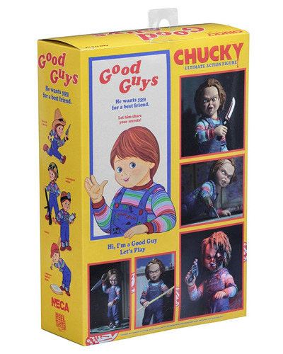neca chucky 4 inch scale action figure - ultimate chucky