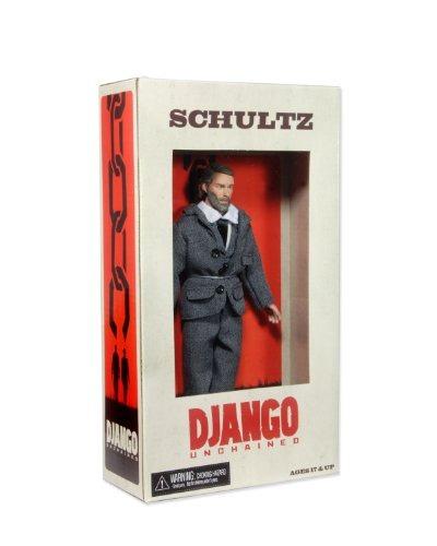 neca django unchained schultz 8 figura acción serie 1