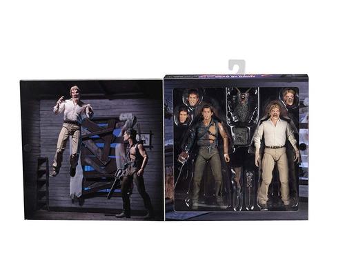neca evil dead 2 boxed set 7 hero ash and deadite ed