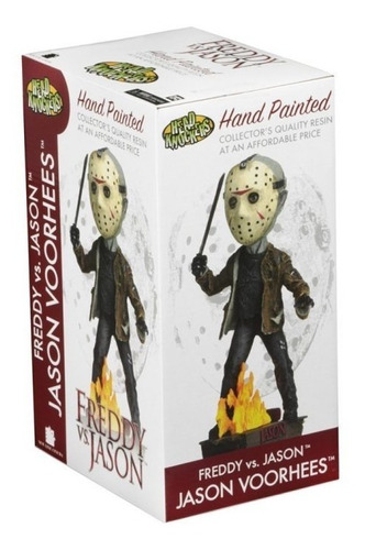 neca head knockers jason voorhees bobble head en stock