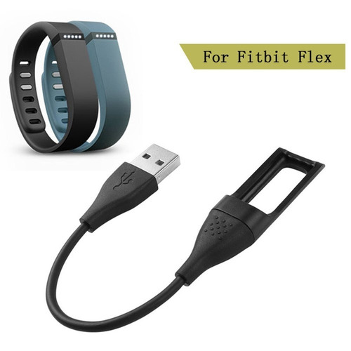 necano fitbit flex charger replacement usb charger c -negro