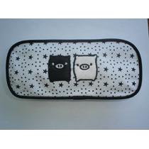Cartuchera O Cosmetiquera / Monokuro Boo / 20 Cm X 9 Cm