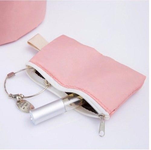 neceser cosmetiquero cartera maleta viaje pequeña rosa wind
